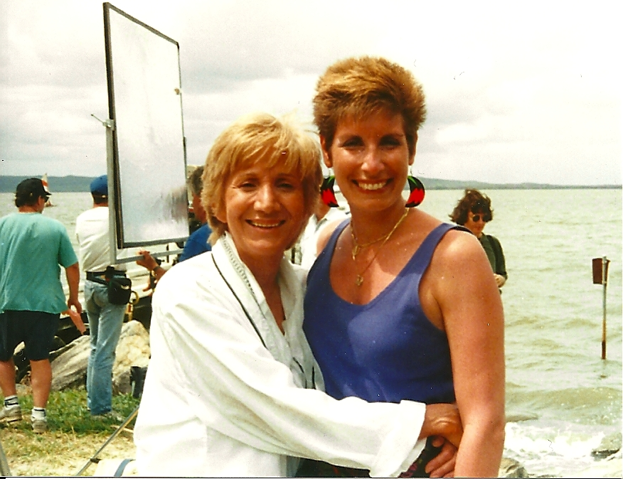 Olympia Dukakis & Bonnie Low-Kramen