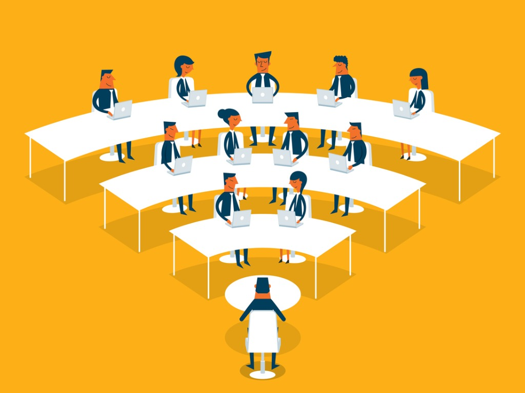 moderating a virtual meeting