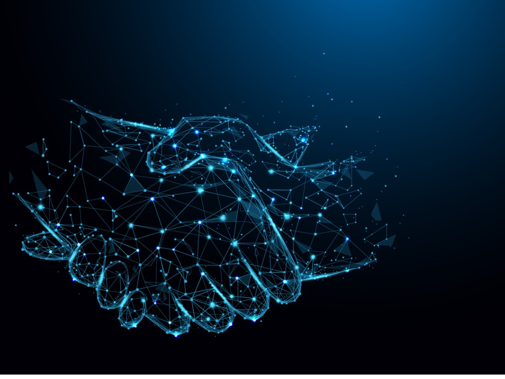transition from Executive Assistant: digital hands shaking hands